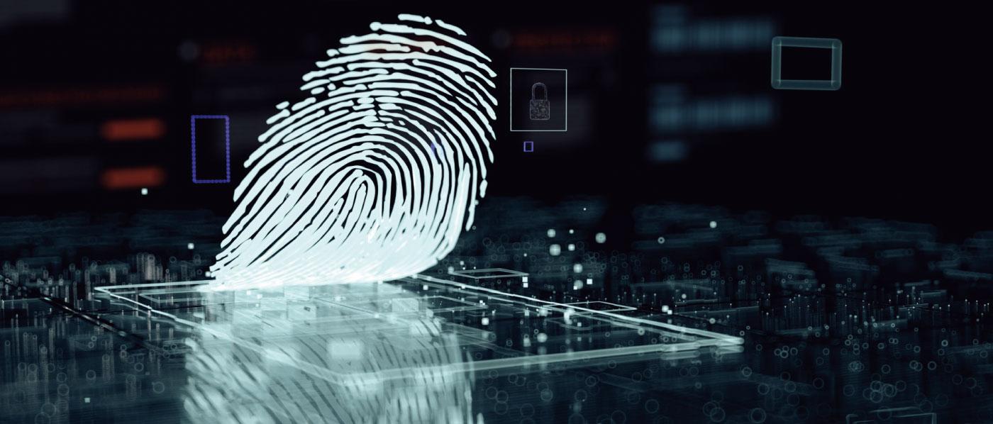 指紋を活用したシステム